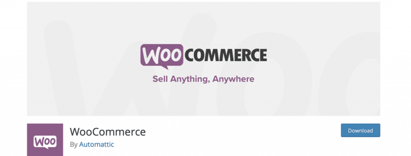 The WooCommerce plugin