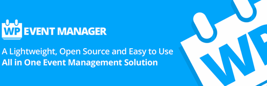 The WP Event Manager WordPress plugin.