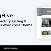 Introduction to ListingHive – A Free Directory, Listing & Classifieds WordPress Theme