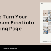 How to Turn Your Instagram Feed into a Landing Page