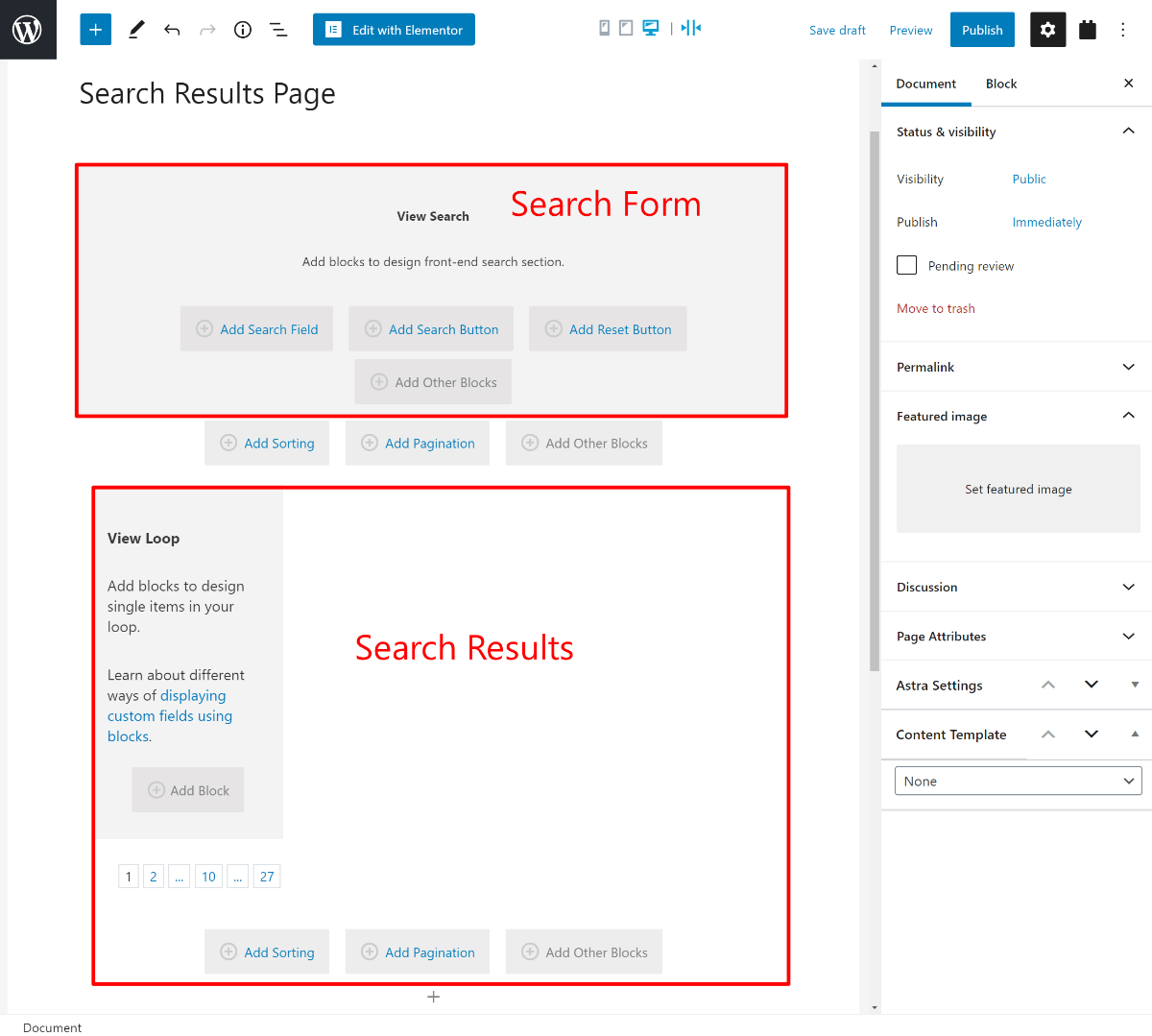 Build your custom search and filter form