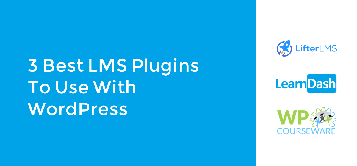 LMS Plugins to use with WordPress