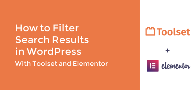 How to Filter Search Results in WordPress