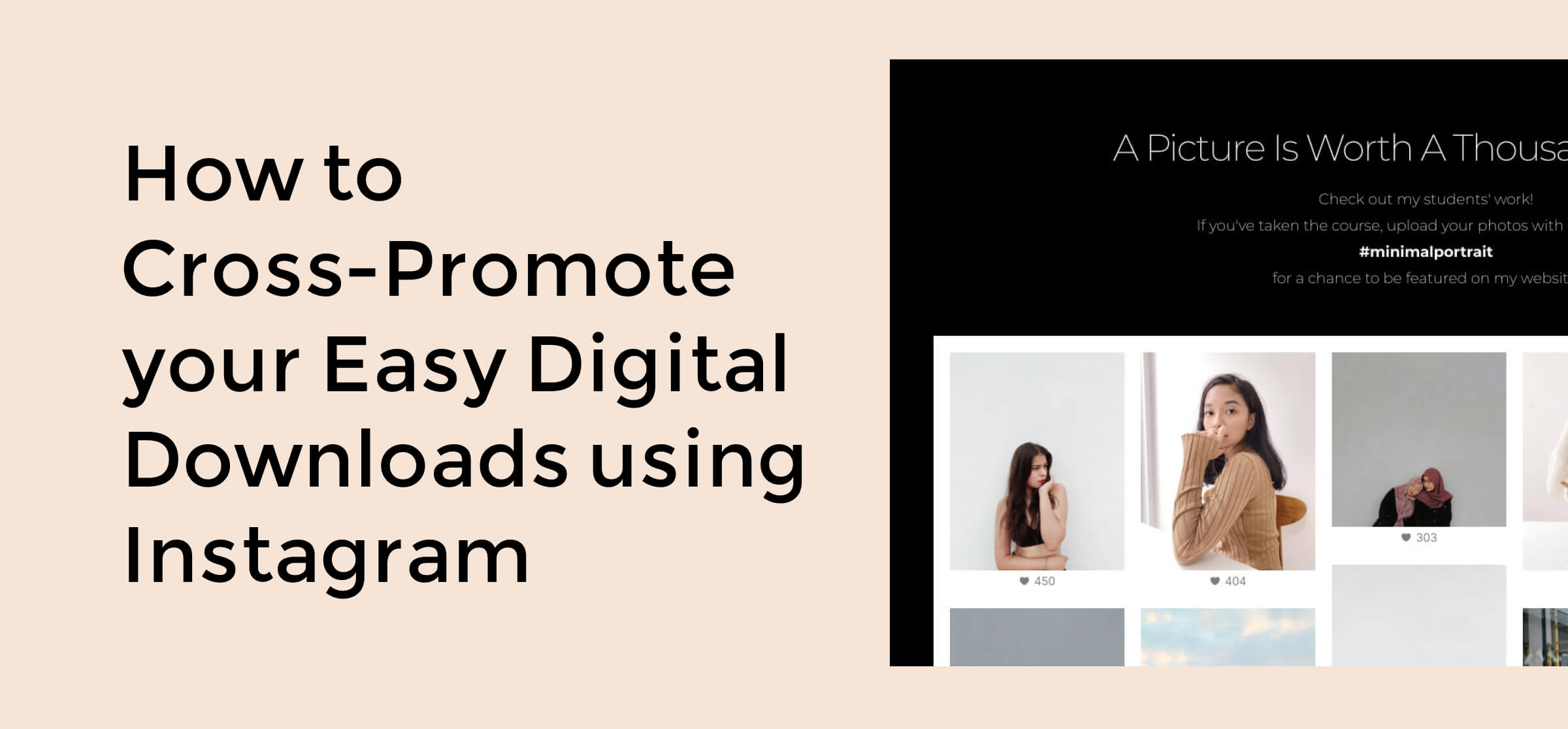 Cross-Promote Your EDD using Instagram