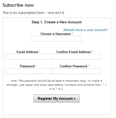 Wordpress membership cryptocurrency subscription