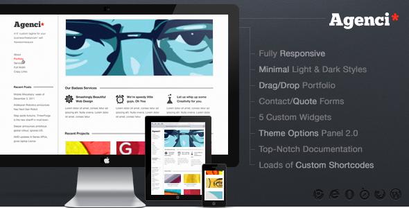 Agenci Responsive Minimal WordPress Theme