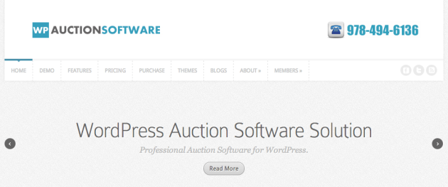 Auction Software and WordPress Auction Plugin