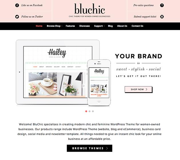 BluChic Themes