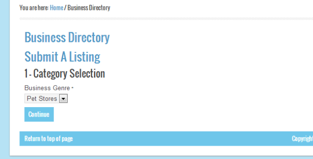 Business Directory Submit 01