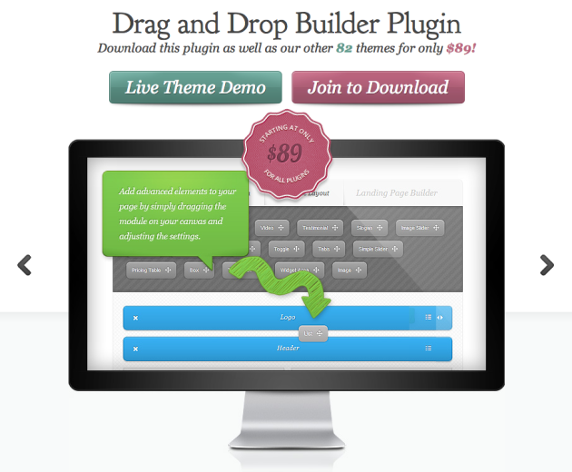 Drag and Drop Builder Plugin For WordPress