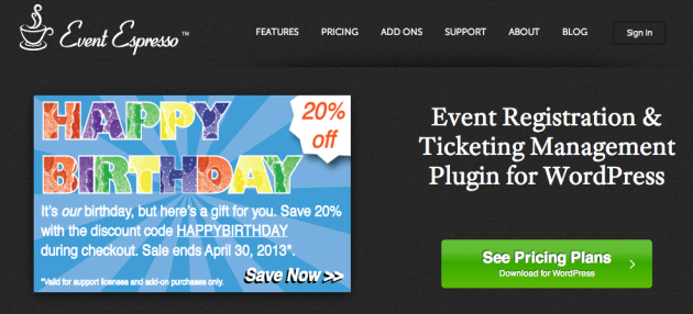 Event Espresso – WordPress Event Registration and Ticketing Manager Plugin