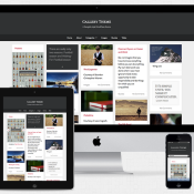 "New Free WordPress Theme from UpThemes - ""Gallery"""