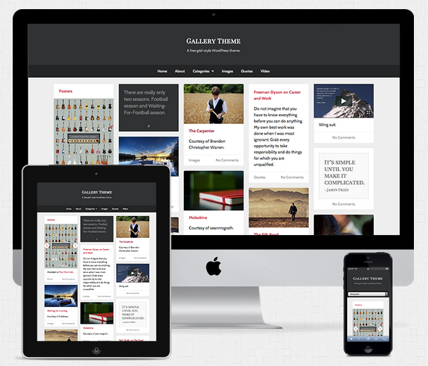 Gallery UpThemes