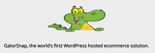 GatorSnap.com   the world s first wordpress hosted ecommerce solution