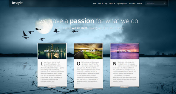 Instyle travel themes for WordPress