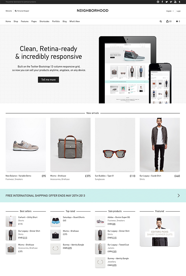 15 Awesome eCommerce WordPress Themes in October 2013 - WP Mayor