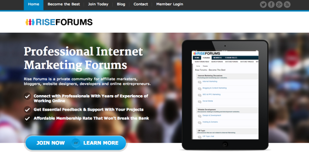 Rise Forums Internet Marketing Forums