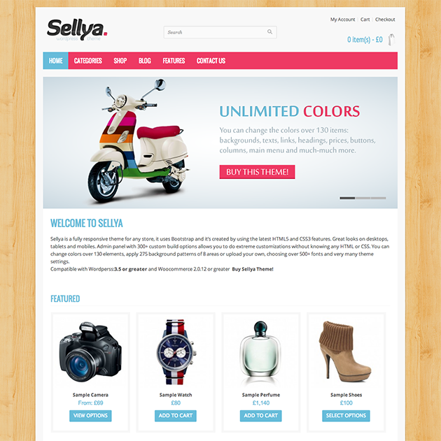 Sellya WordPress