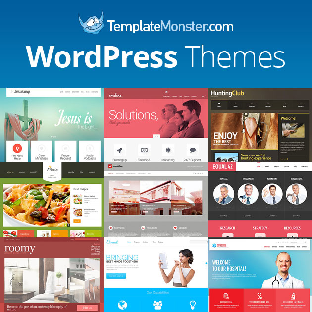 Giveaway - Win a WordPress Theme from TemplateMonster - WP Mayor