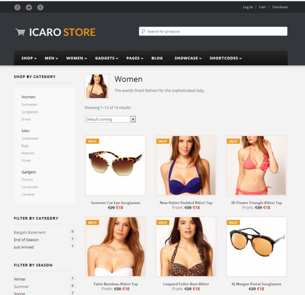 Women Archives - Icarostore Demo