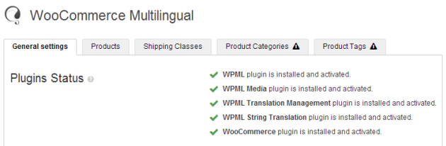 WooCommerce Multilingual CP General