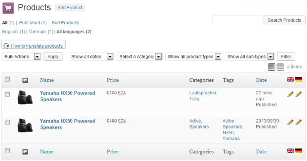 WooCommerce Multilingual CP Products 05
