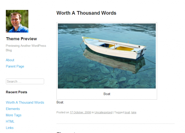 WordPress › Publish « Free WordPress Themes