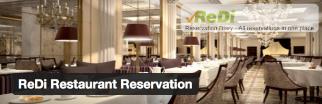 WordPress › ReDi Restaurant Reservation « WordPress Plugins