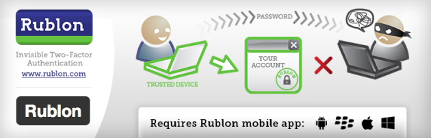 WordPress › Rublon « WordPress Plugins