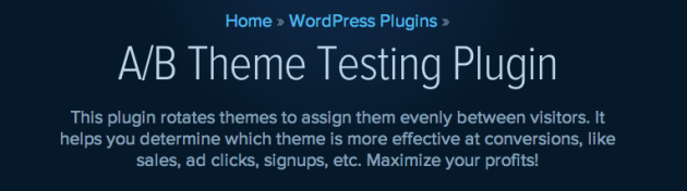 WordPress A B Theme Testing Plugin Plugin WPMU DEV