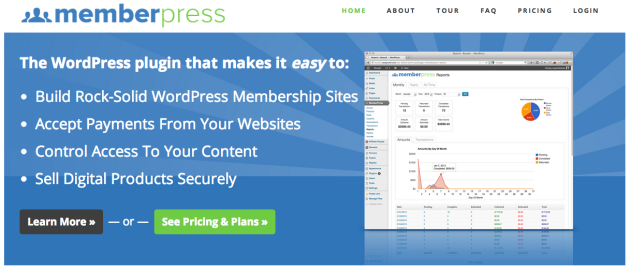 WordPress Membership Membership Site Software Memberpress