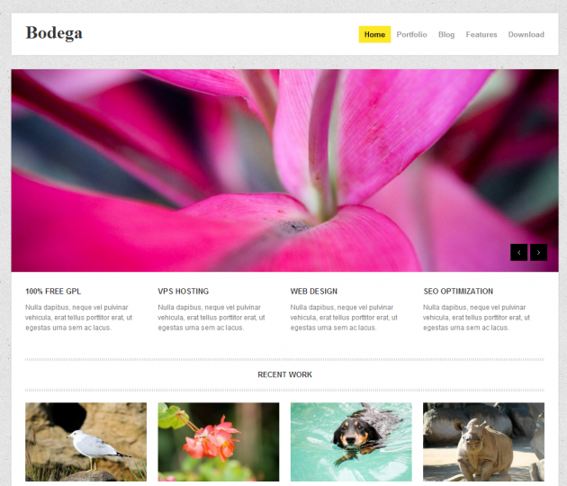 bodega free wordpress theme