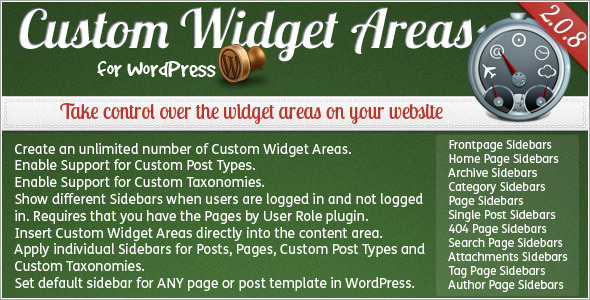 custom widget wordpress