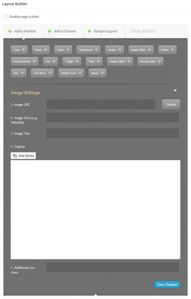 Elegant Builder Configure Element