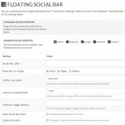 Increase Your Social Shares in WordPress with Floating Share Bar