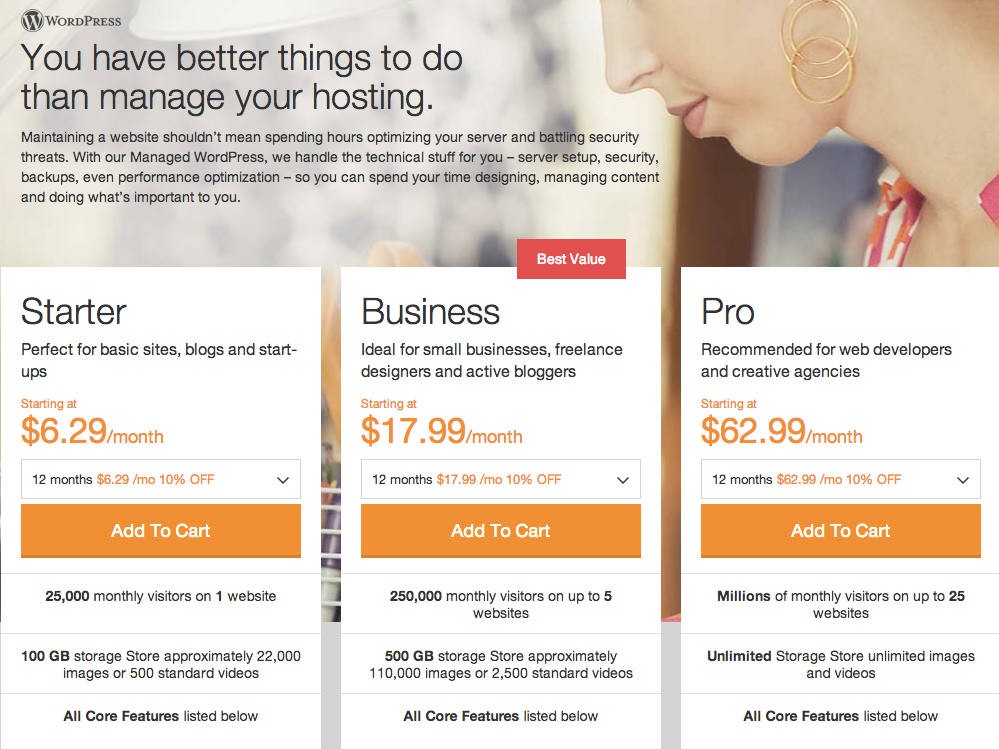 GoDaddy Launches WordPress Managed Hosting Service