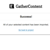 Introducing GatherContent Import: Pull Content Straight into WordPress