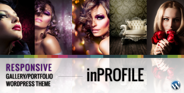 inProfile wordpress photography gallery responsive theme
