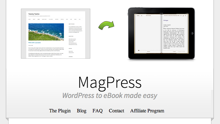 Ebook Wordpress Plugin