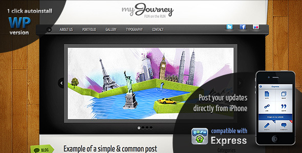 My Journey Travel themes for WordPress