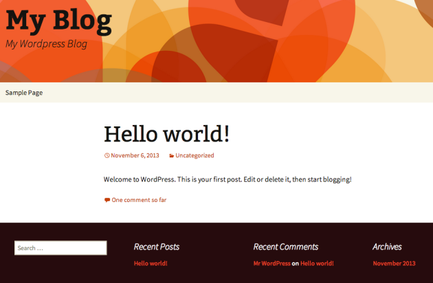 my wordpress blog
