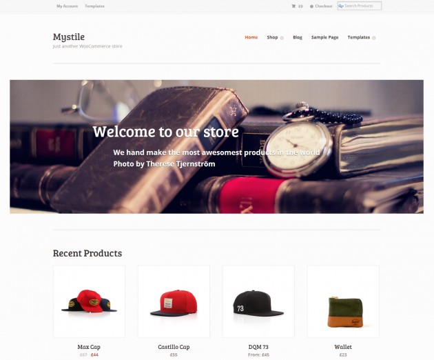 mystile free wordpress theme