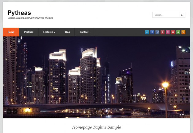 phytheas free wordpress theme