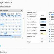 "Calendar Preview ""floats"" on top of settings"