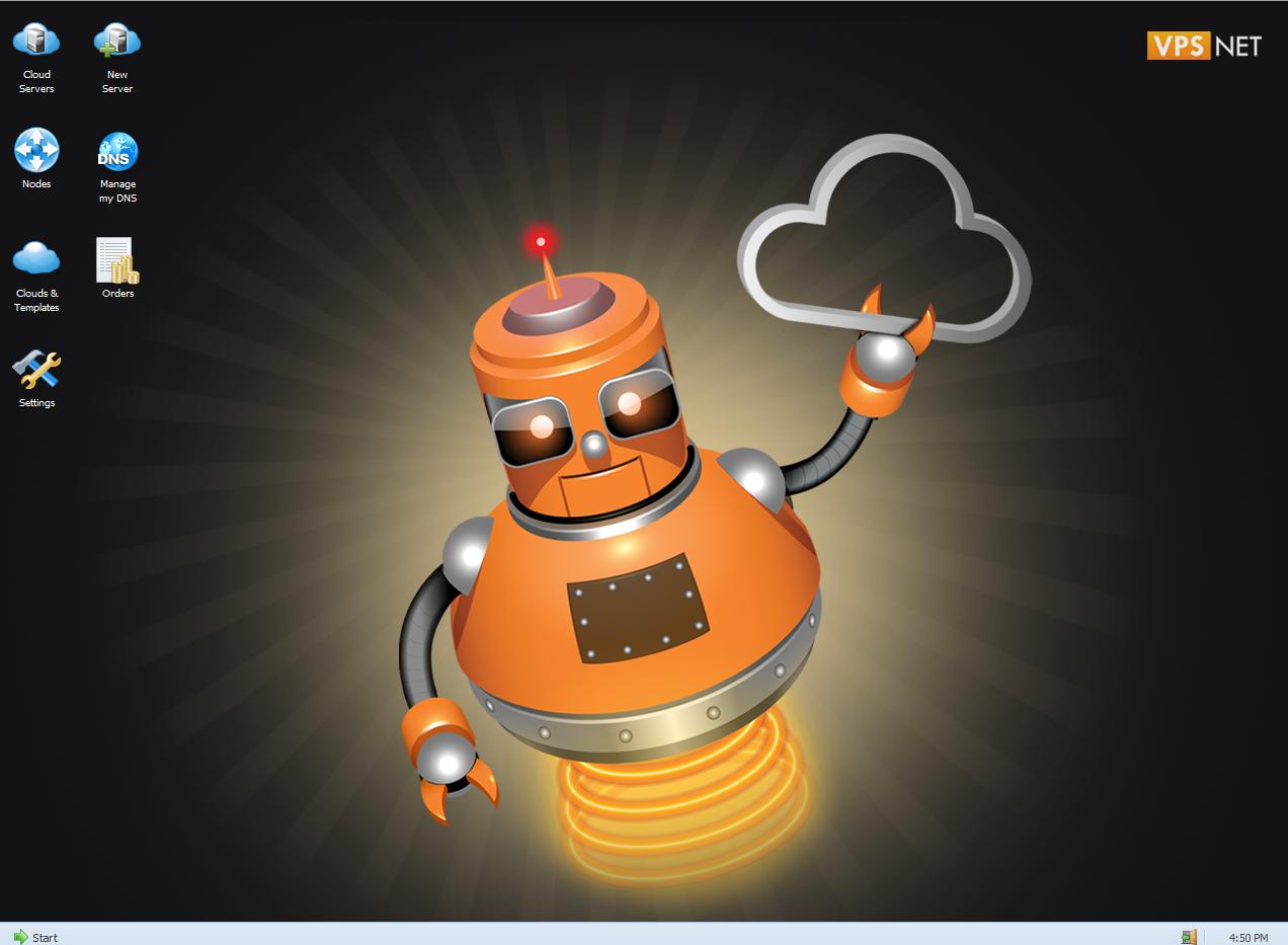 VPS.net desktop